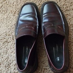 Men's Leather Modern Penny Loafers